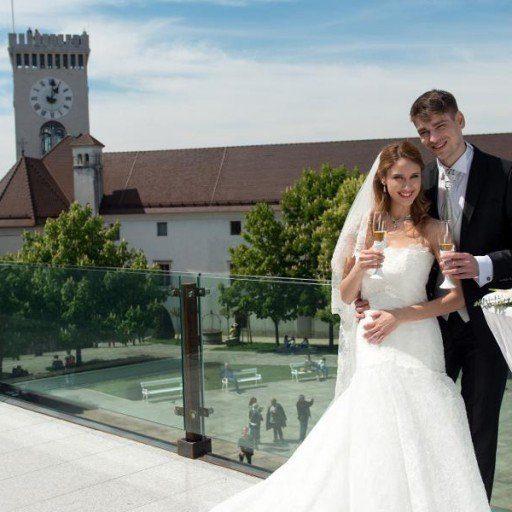 poroka v ljubljani