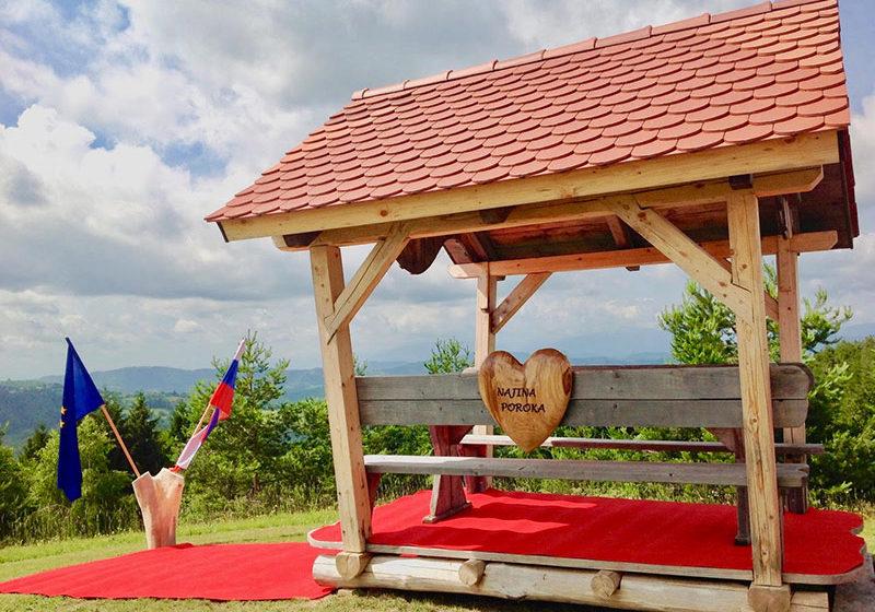 turistična vas pristava poroka