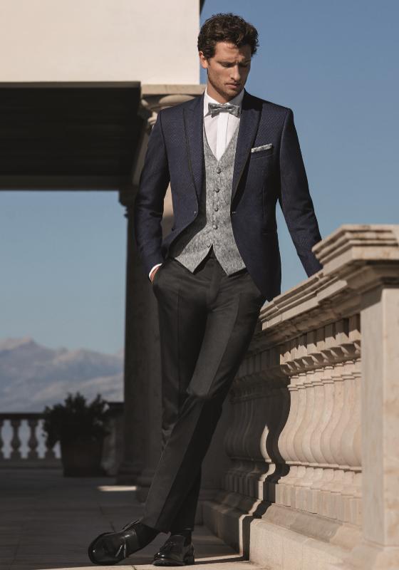 ena in edina moške obleke